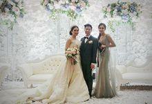 Jodhi & Vivian Wedding - Pullman Central Park Jakarta by Mosandy Esenway management