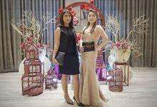 Devina &  Vicky Sangjit - Mulia Hotel jakarta by Mosandy Esenway management