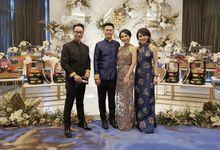 Deviana & Billy Sangjit - Raffles Hotel Jakarta by Mosandy Esenway management