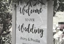 The Wedding of Jhonny & Precilia by Miracle Wedding Bali