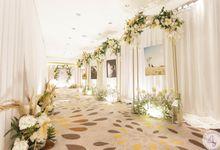 Wedding of Brian & Chrisella by 4Seasons Decoration