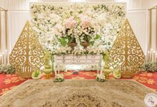 Wedding of Asita & Andri by 4Seasons Decoration
