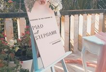 The Wedding of Piao & Stephanie by Miracle Wedding Bali