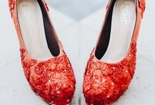 Bold Red Wedding by SLIGHTshop.com