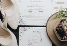 Indoor Wedding with Outdoor Vibe by SLIGHTshop.com