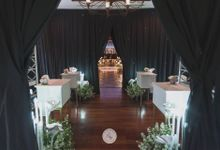 Wedding of Sidharta & Joanna by 4Seasons Decoration