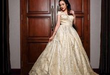 Belle Wedding Gown Details by Zena