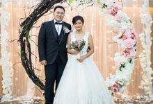 Beautiful Wedding by Dorcas Floral