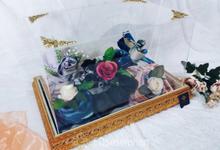 [Photoshoot] 2019 ED Gold Tray, Seserahan Kerudung by EDseserahan