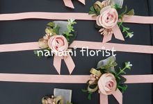 Corsage And Boutennier by nanami florist