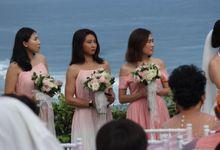 Wedding Diana & Mun 19 Jan 2019 by Bali Bless Florist