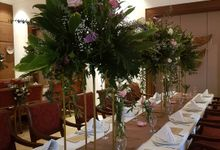 Tabledecoratiom by nanami florist