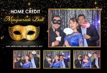 Home Credit Masquerade Ball 2019 by Boracay Starshots Photobooth