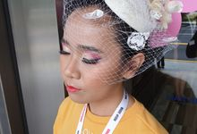 make up for bridal photoshot by hana