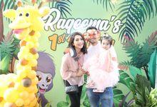 Raqeema Ruby Radinal 1st birthday by 83photostudio