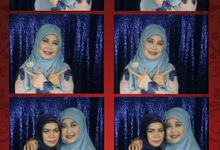 Arieka dan Dwiki by Litbox Photobooth