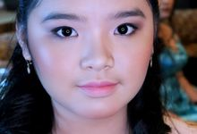 Natural Look For Ms. Angel by Vichelean Make Up Artist