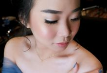 Bridesmaid Makeup For Ms. Dita by Vichelean Make Up Artist