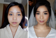 before-after by CHERIS'H makeup artist