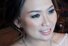 Bride Mrs. Meigi by Vichelean Make Up Artist