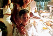 Wedding Griffin & Anatazia at Villa Anugerah by Wahaha Pork Ribs