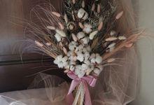 Custom Wedding Bouquet by Ms.Azizah by Et.bloomette
