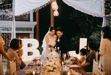 B&J Intimate Wedding by Becik Florist