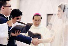 Holy Matrimony Book / Wedding Church Booklet by Buku Liturgi Perkawinan