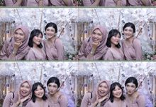Mega & Hutama Wedding by Foto moto photobooth