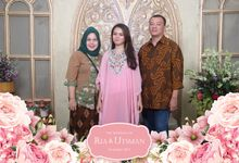 Utsman & Ria Wedding by Foto moto photobooth