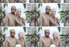 Tiara & Aldy wedding by Foto moto photobooth