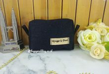 Souvenir Pouch Denin by Happy Wedding