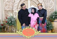 Hapsari & Iqbal Wedding by Foto moto photobooth