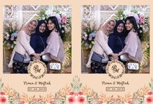Prima & Mifta Wedding by Foto moto photobooth