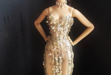 Customized Dolls in Evening Gown by The Doll Couture Atelier