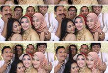 Ebi & Dika Wedding by Foto moto photobooth