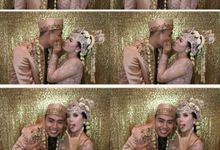 Ebi & Dika Wedding by Foto moto photobooth