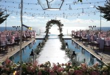 Wedding Michelle & Brian 04 May 2019 by Bali Bless Florist