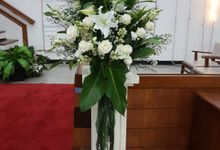 Dekorasi GkI Kebayoran Baru by nanami florist