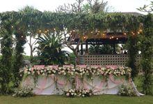 Wedding Shaqira & Niall 22 June 2019 by Bali Bless Florist