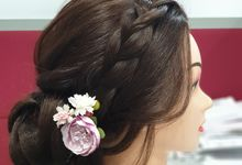 Bridal Hairstyles by hana