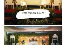 Dekorasi Pelaminan Rumahan by Adorableep