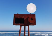 Vintage Camera Photo Booth Kiosk by Bali Shooting Stars