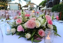 Wedding Jessica & Laurent 20.07.2019 by Bali Bless Florist