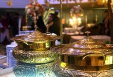 Resepsi Pernikahan Rana & Vira Adat Pelembang by Dirasari Catering