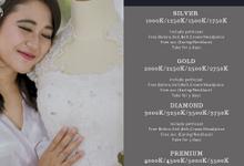 Pricelist Weddingdress by Bee Bridal Center