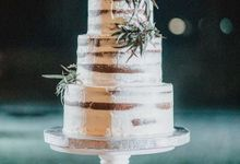 The Wedding Cake Of Agus & Citra by Moia Cake