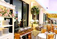 The Wedding Of Riandy & Nandia by Dirasari Catering