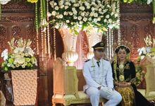 The Wedding Of Adit Dan Hana by Dirasari Catering