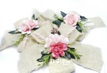 Bunga Aksesoris Seserahan dan Kado Rustic by Dolpin Wedding Gallery